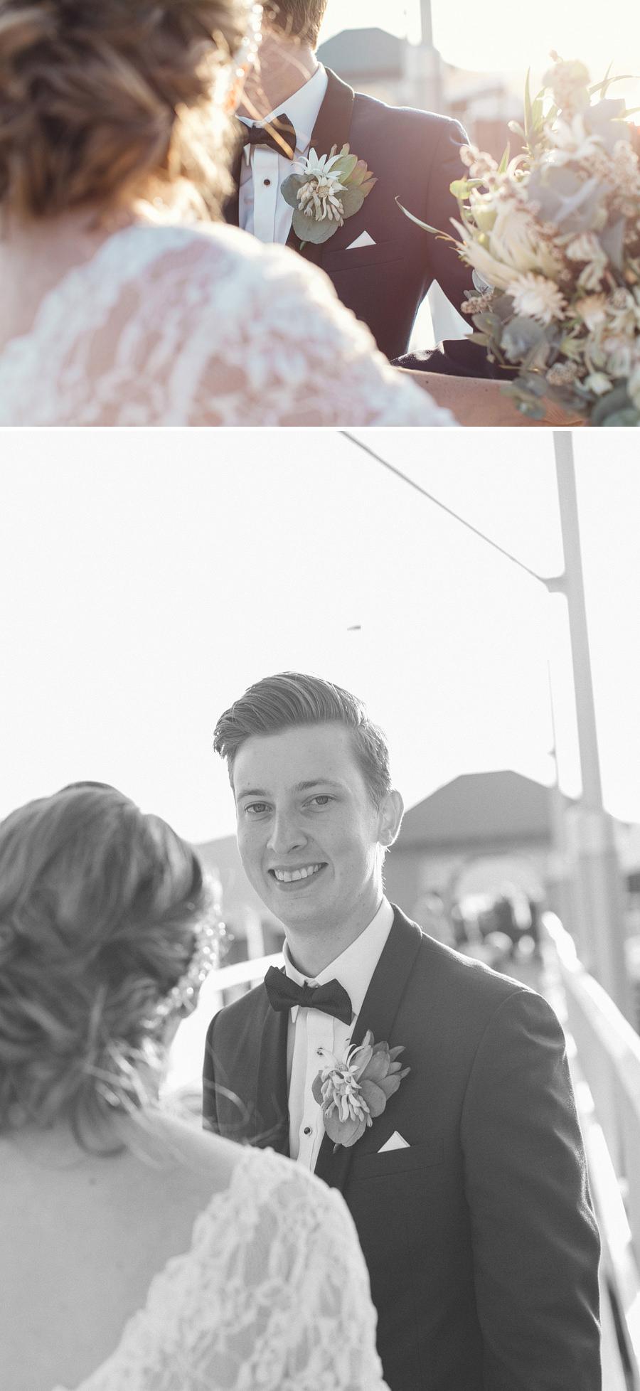 Pittwater Wedding Photographer: Bride & Groom portraits