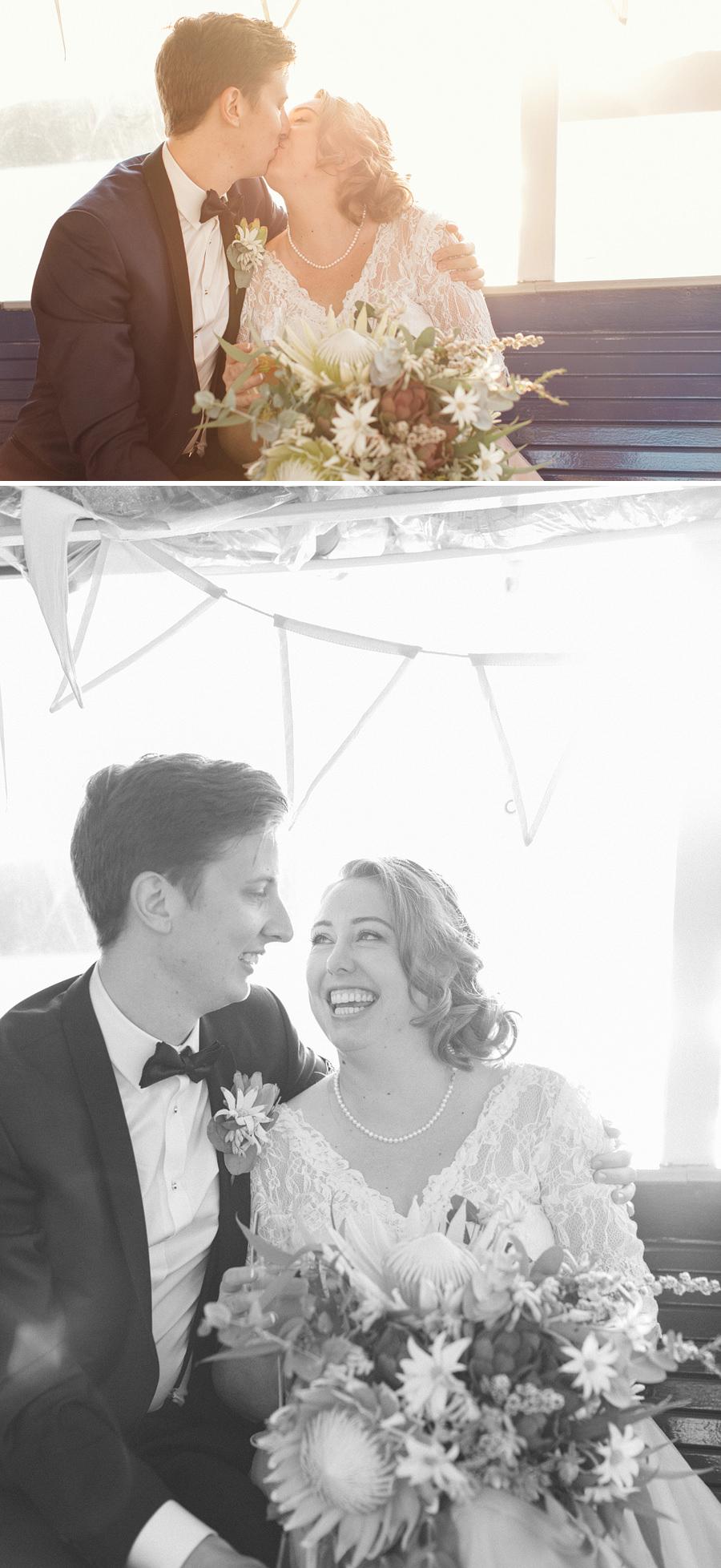 Pittwater Wedding Photographers: Bride & Groom portraits