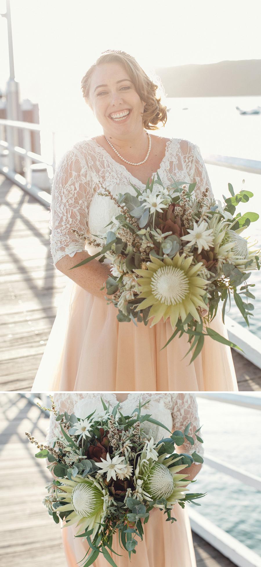 Pittwater Wedding Photography: Bride & Groom portraits