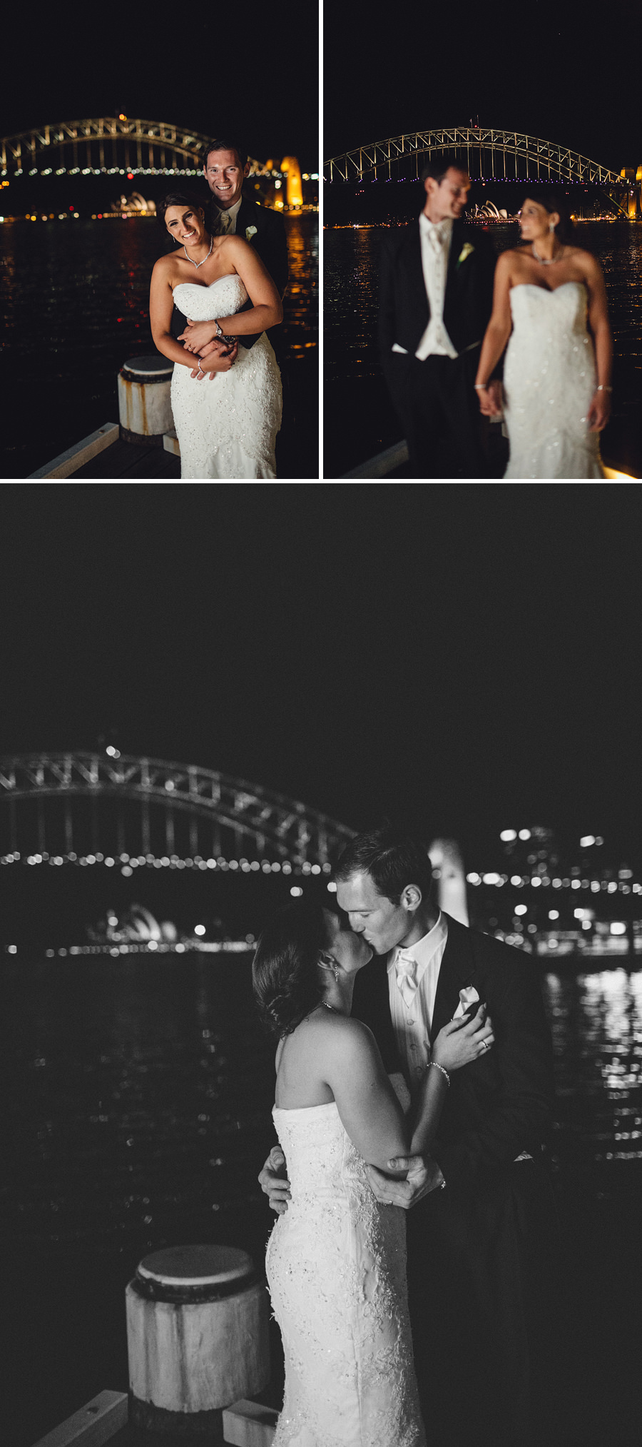 Sydney Harbour Wedding Photographer: Night Portraits