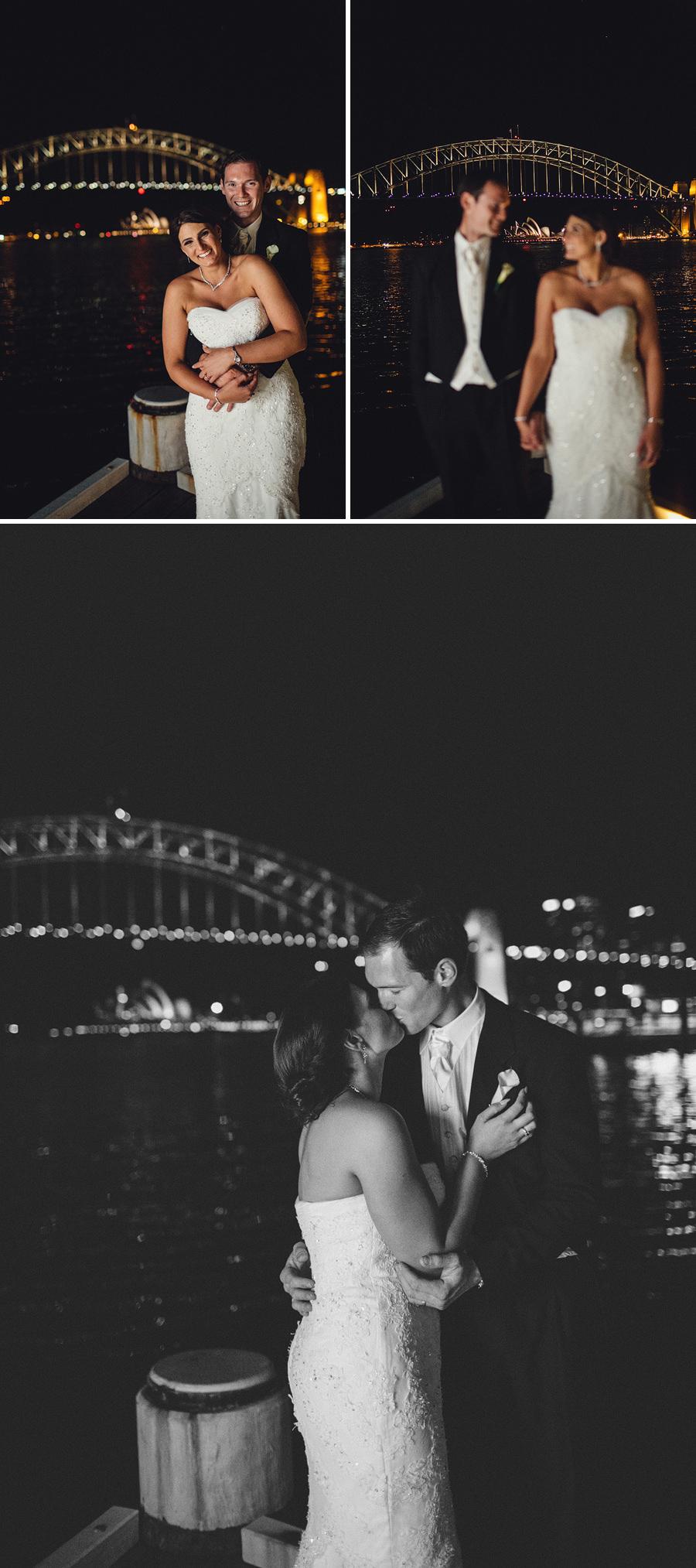 Sydney Harbour Wedding Photographer: Night Portraits
