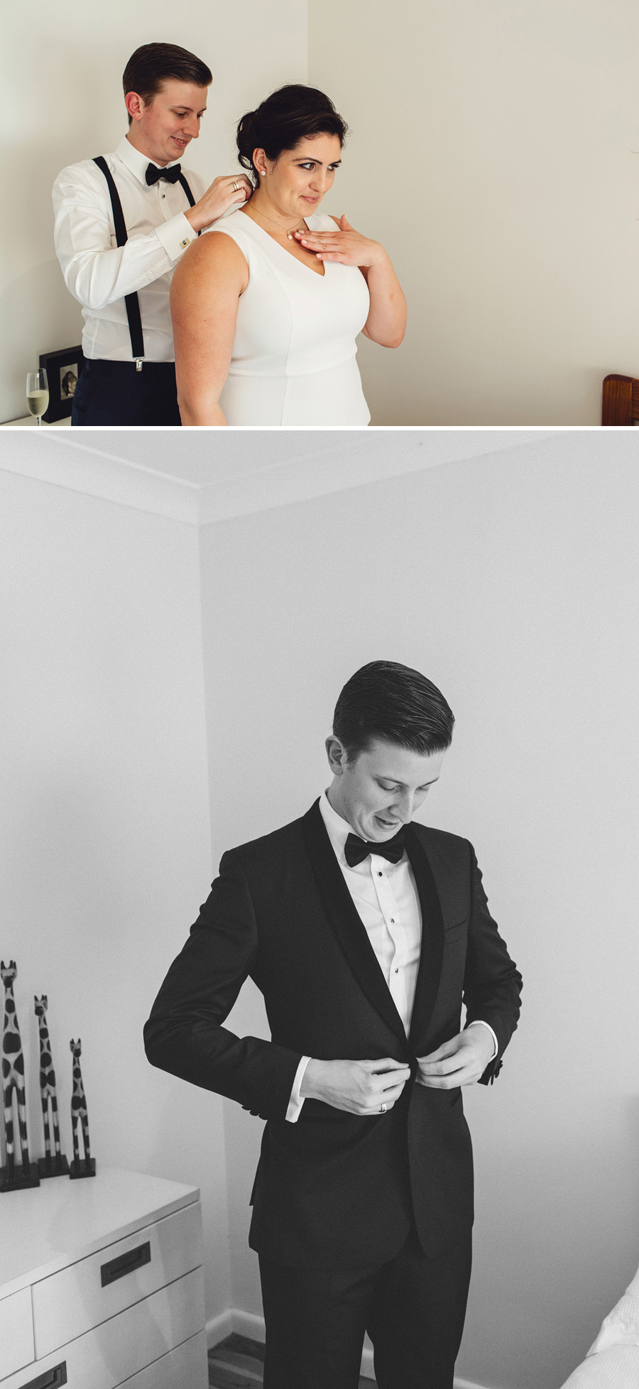 Timeless Wedding Photography: Groom getting ready