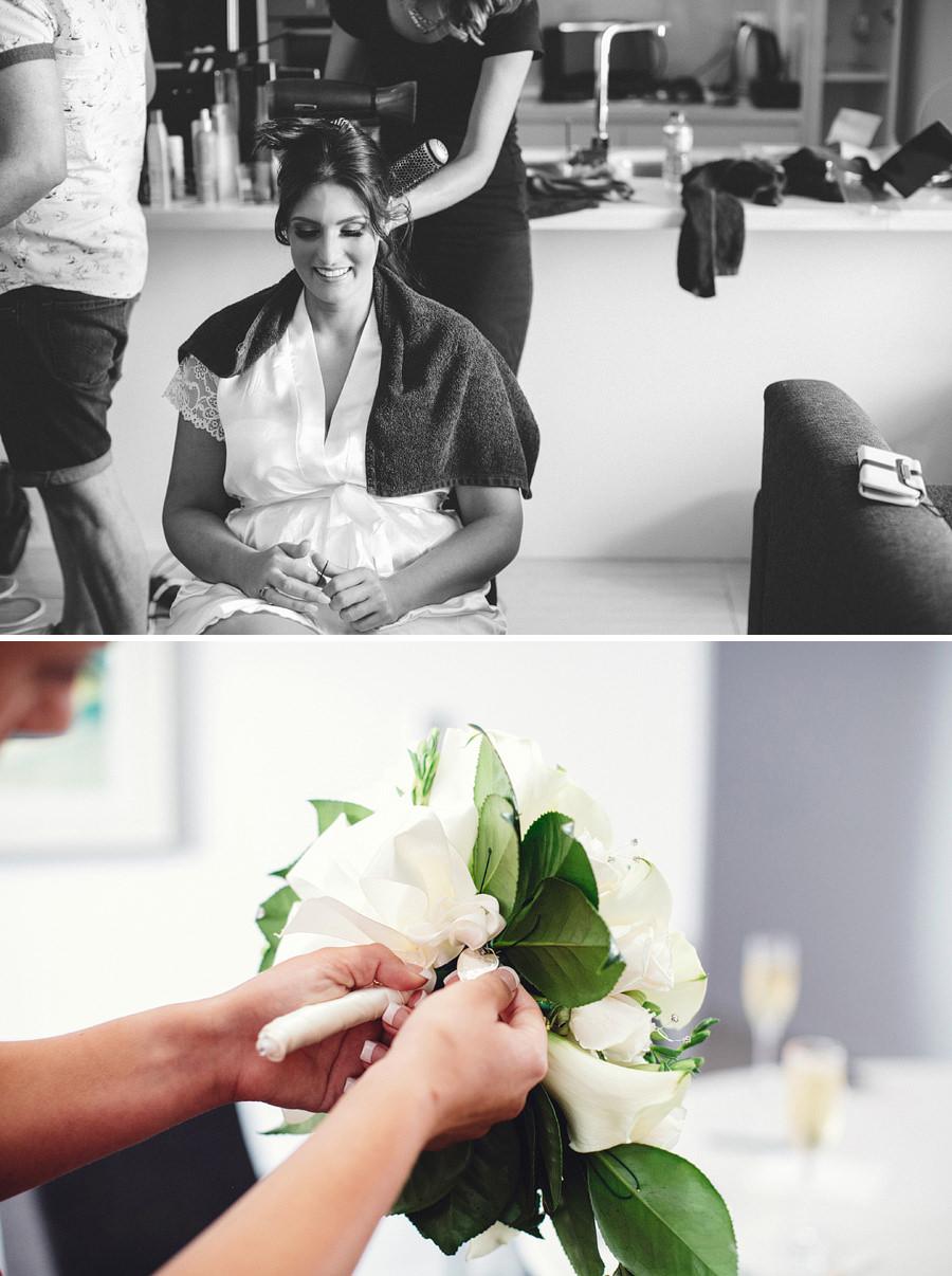 Zetland Wedding Photographers: Girls Getting Ready
