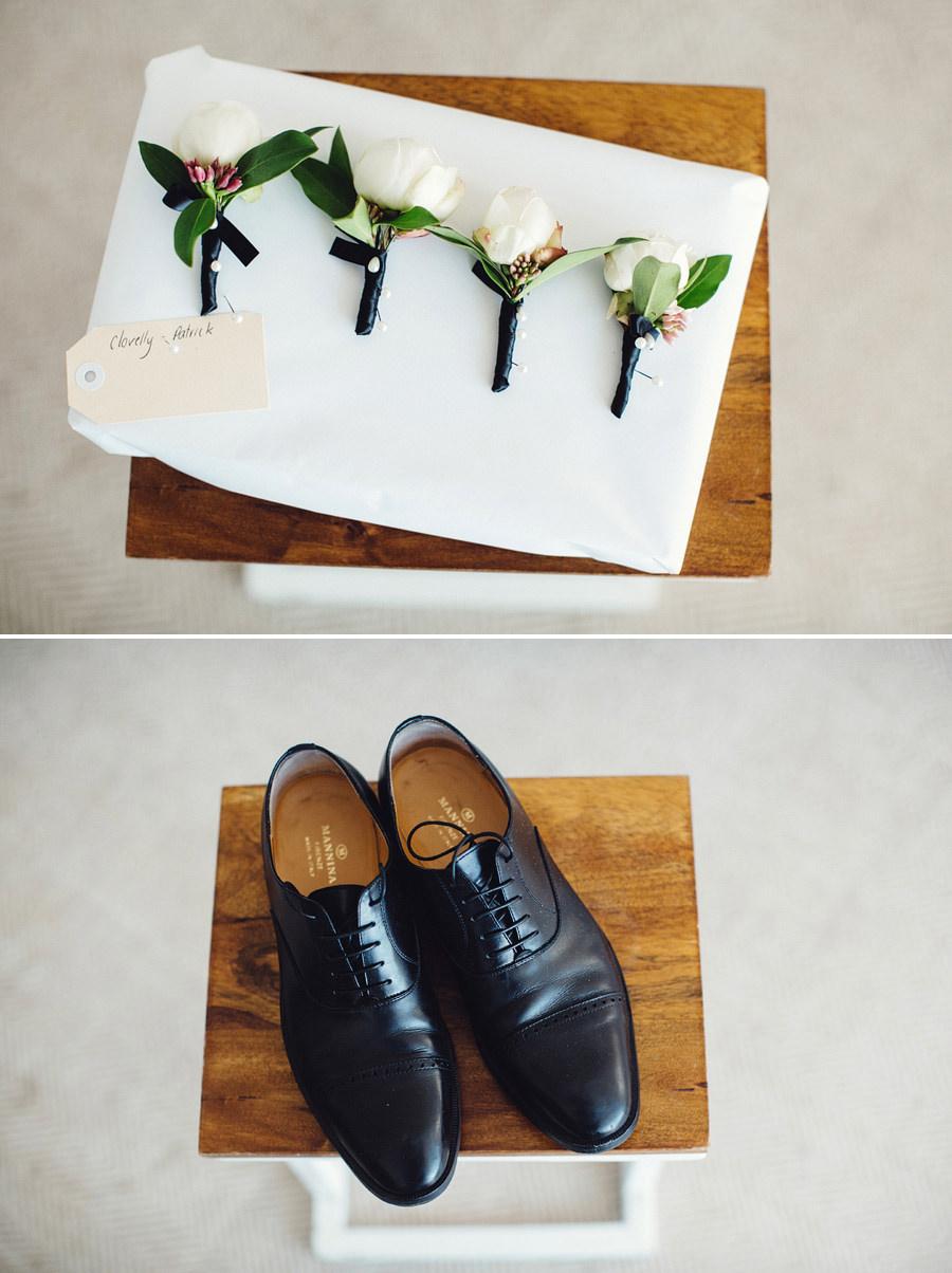 Clovelly Wedding Photographer: Groom's details