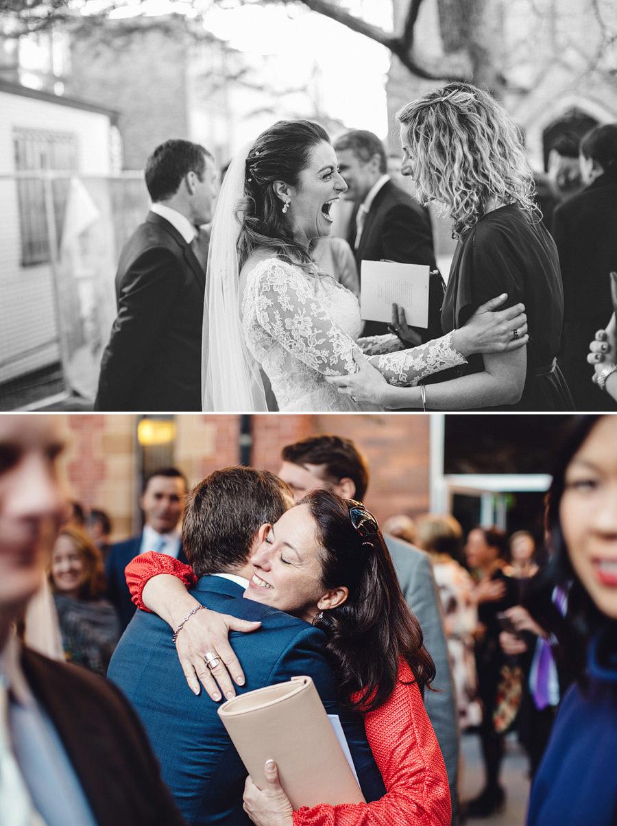 Documentary Wedding Photographers: Congratulations