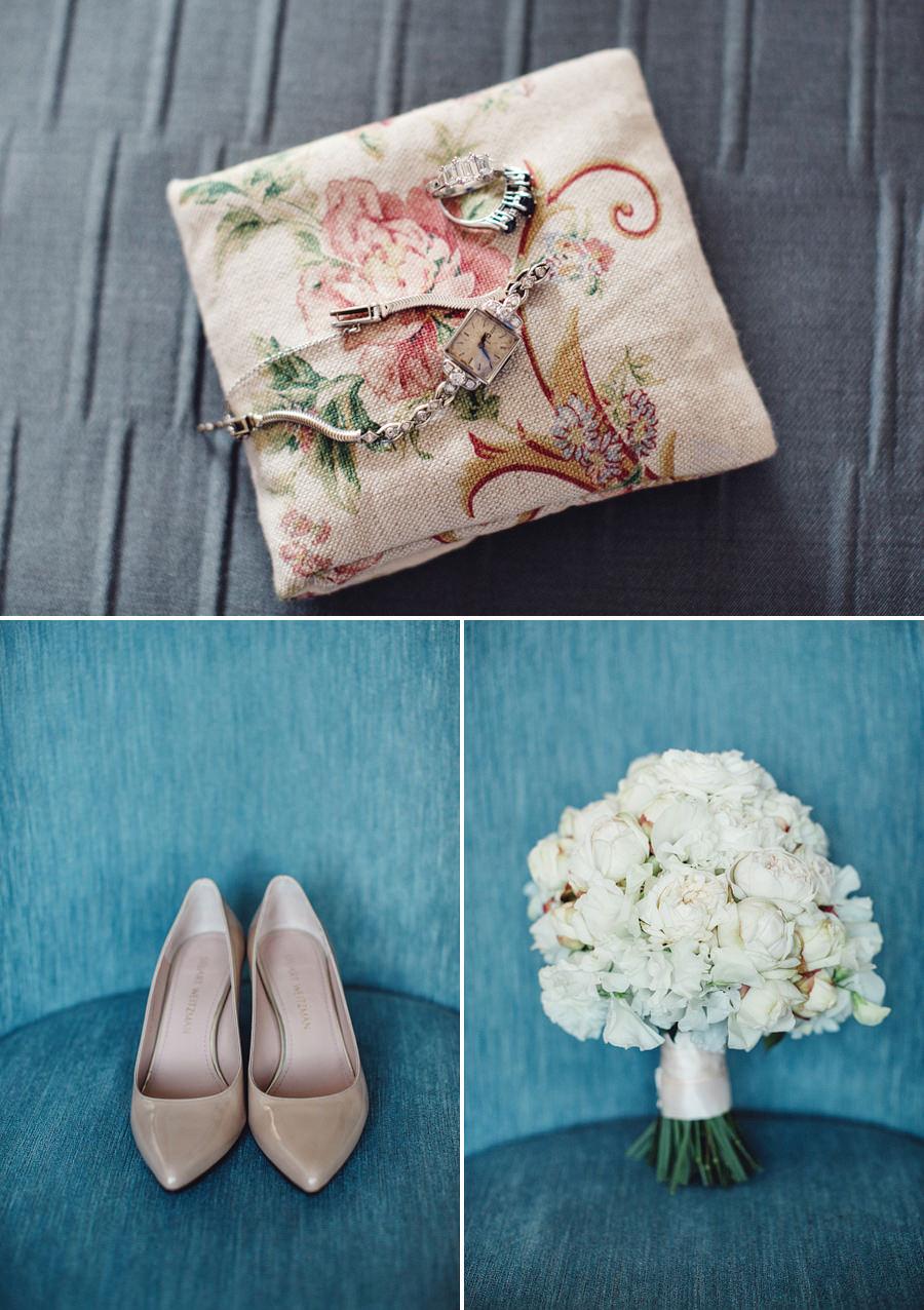 Double Bay Wedding Photographers: Bride's details