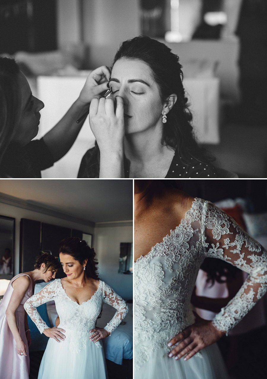 Double Bay Wedding Photography: Bride getting ready