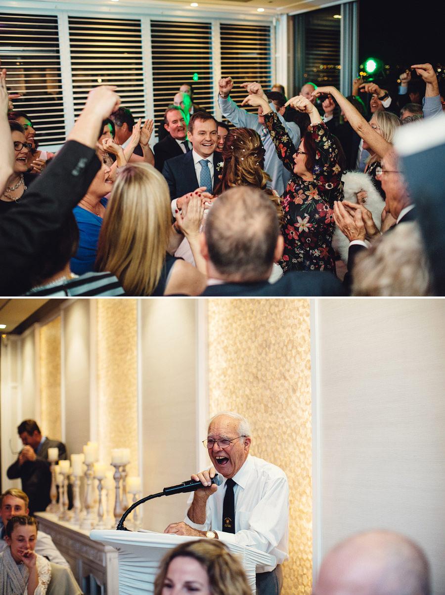 Royal Motor Yacht Club Wedding Photographers: Reception