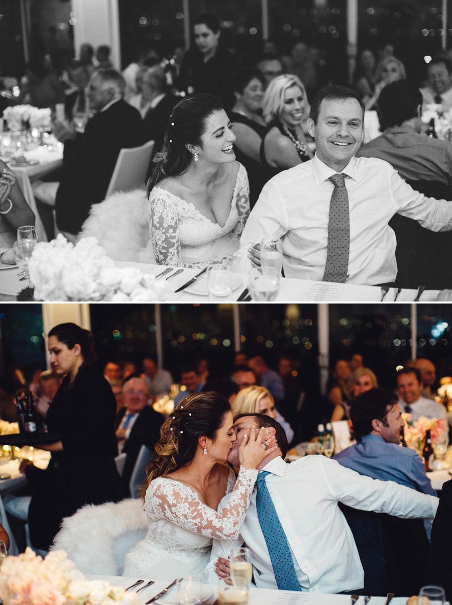 Royal Motor Yacht Club Wedding Photography: Reception