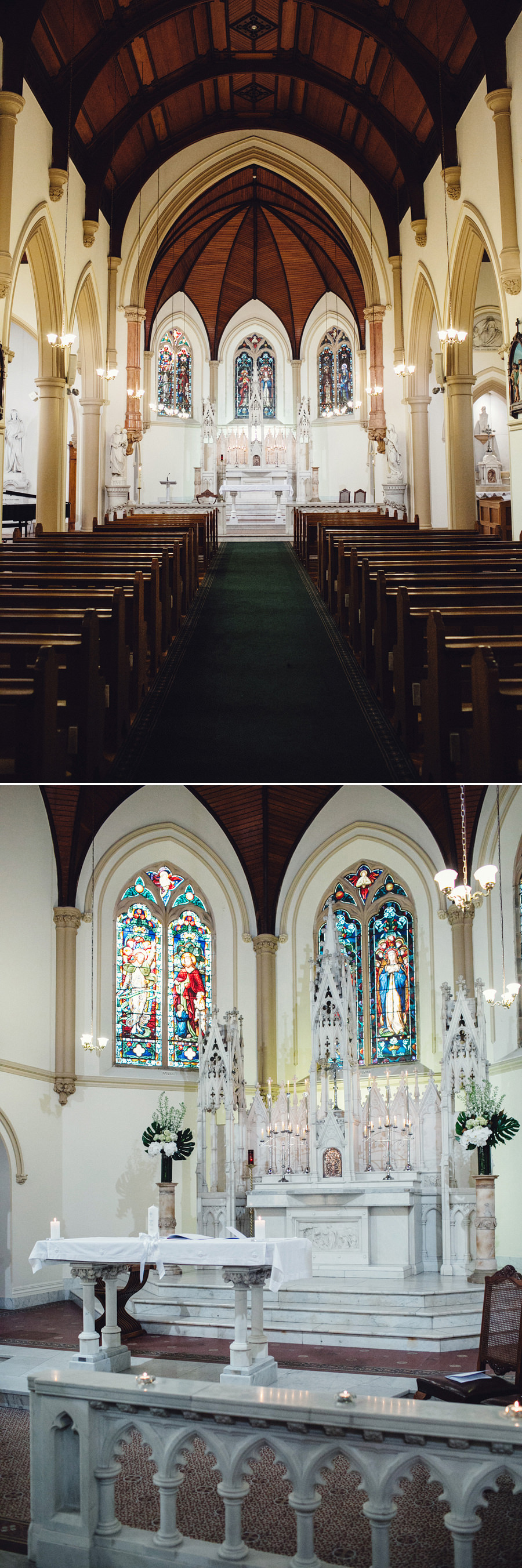 St Vincent's College Wedding Photographer: St Vincent's College Chapel
