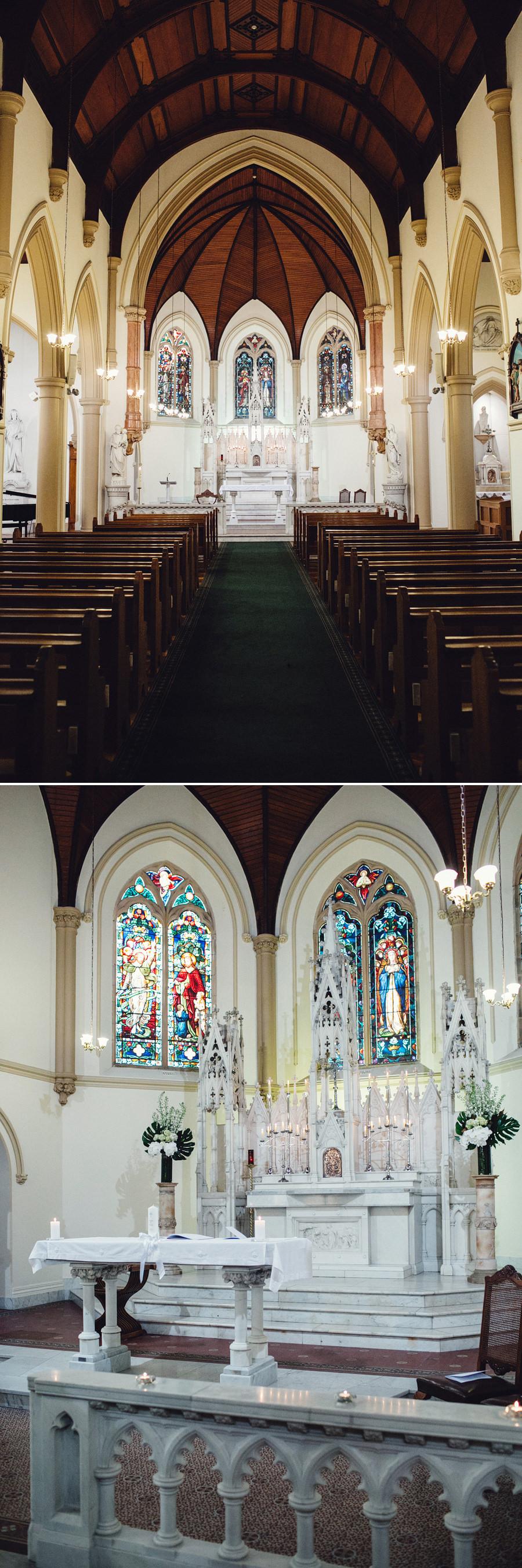 St Vincent's College Wedding Photographer: St Vincent's College Chapel
