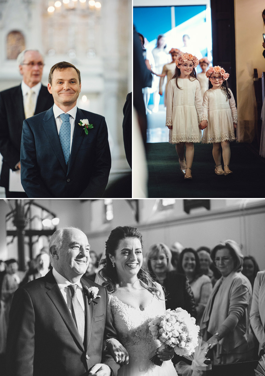 St Vincent's College Wedding Photography: Ceremony