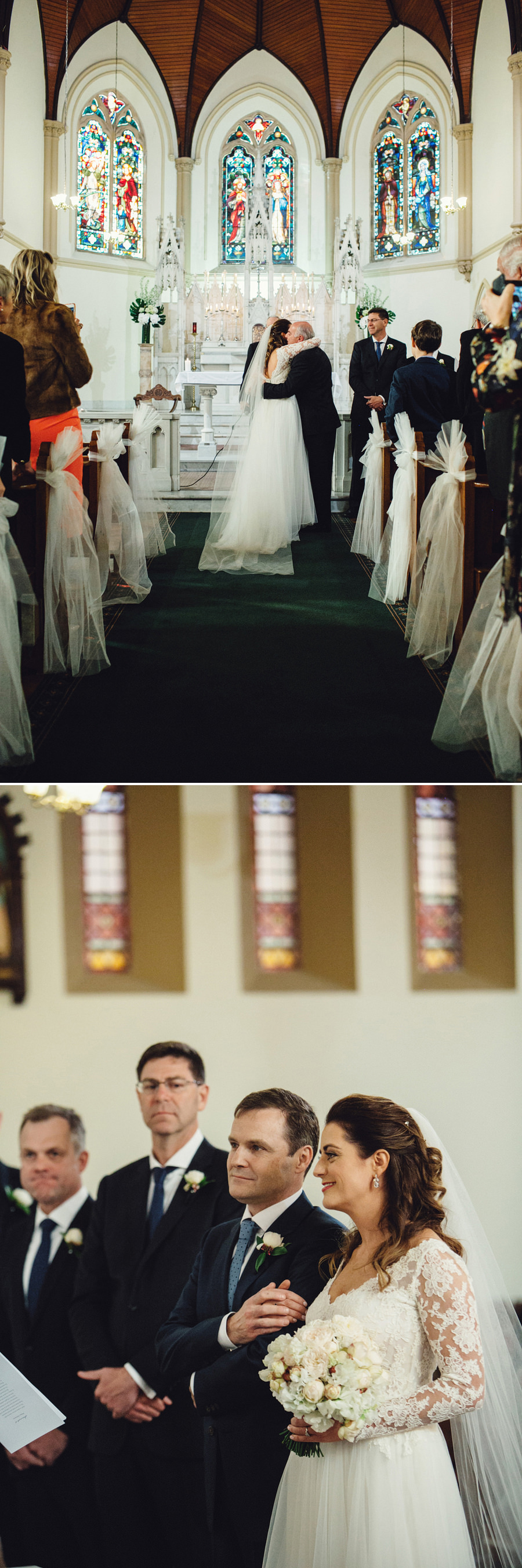 St Vincent's Potts Point Wedding Photographer: Ceremony