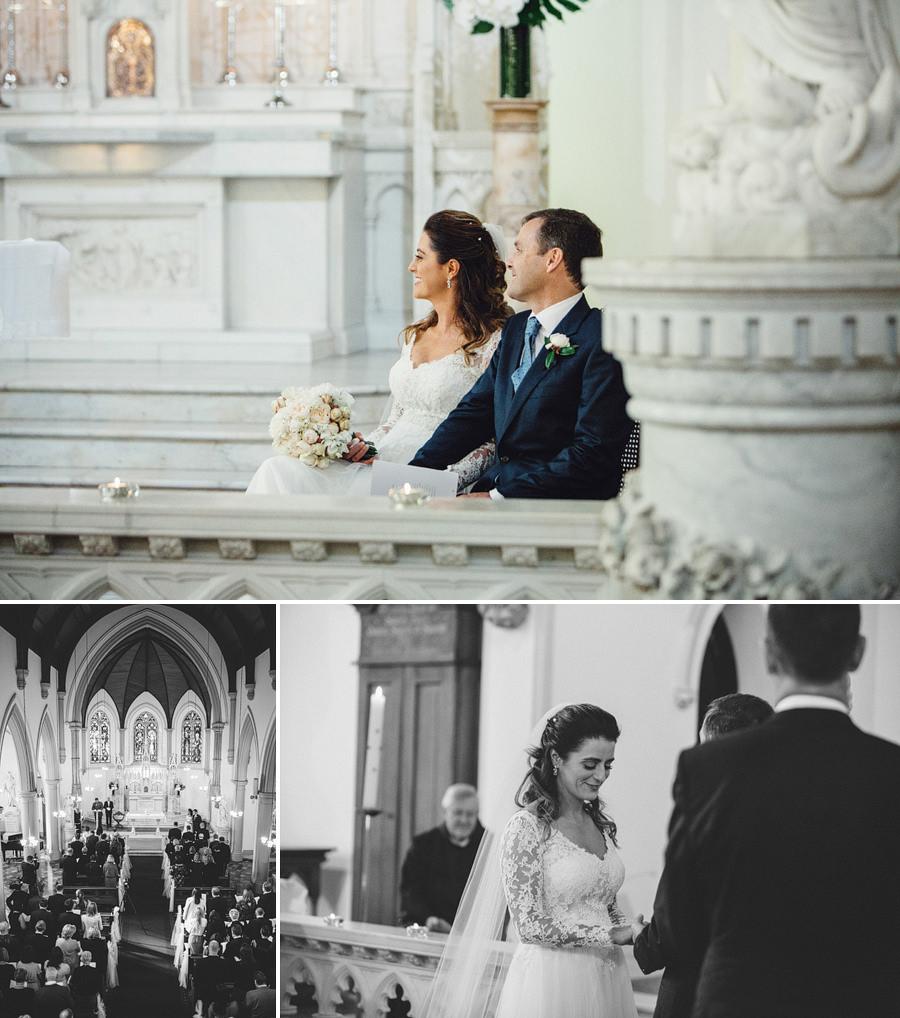 St Vincent's Potts Point Wedding Photographers: Ceremony