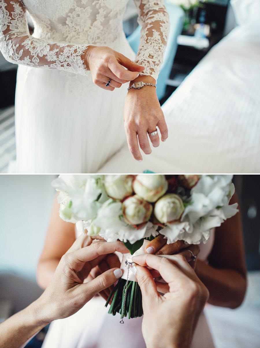 Sydney City Wedding Photography: Bride getting ready