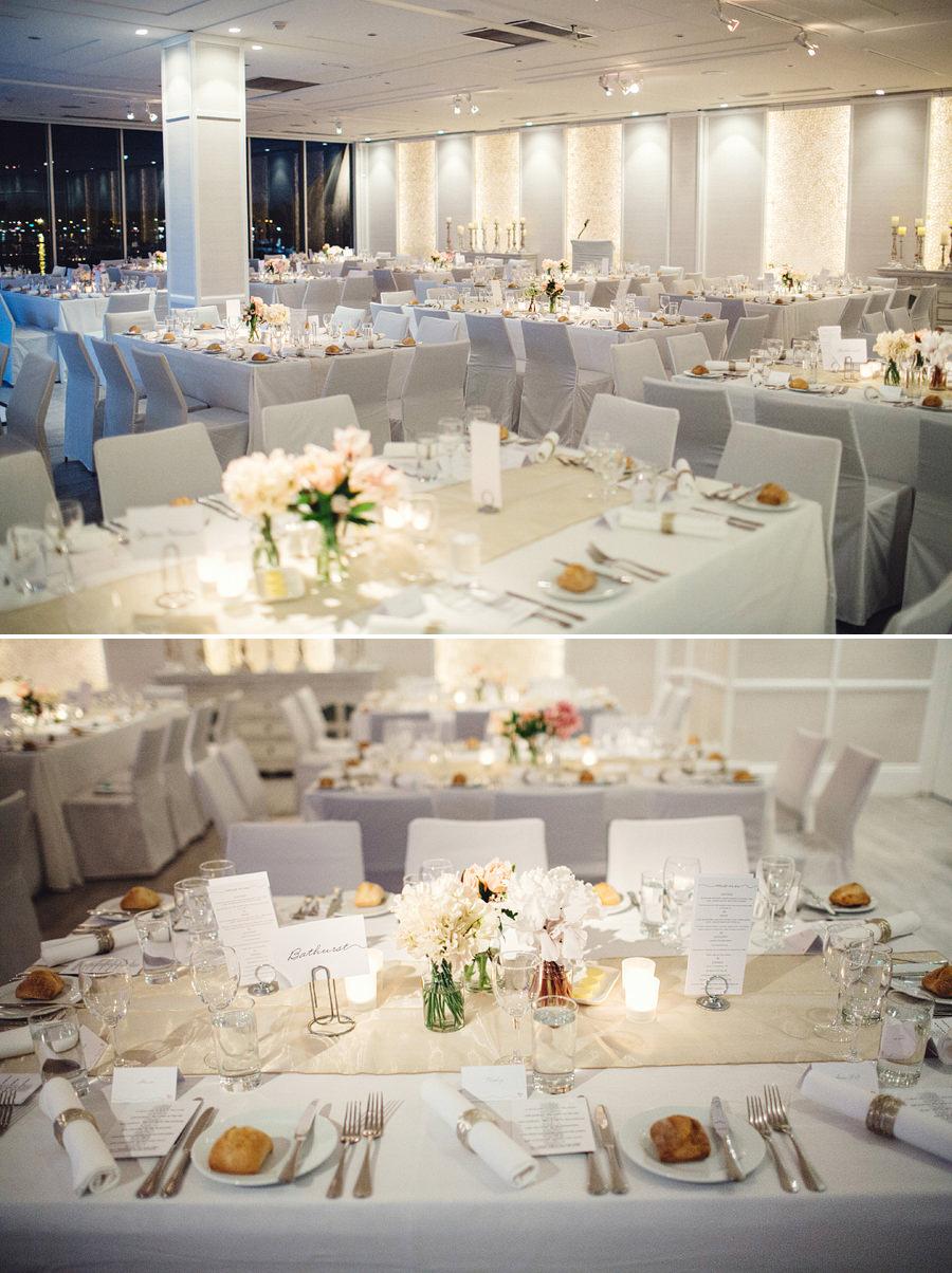 Zest Point Piper Wedding Photographer: Reception details