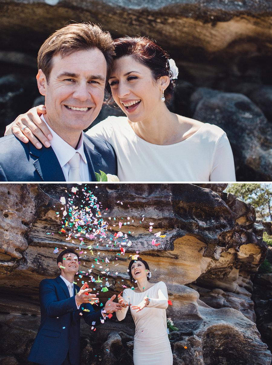Sydney Elopement Photographers: Confetti