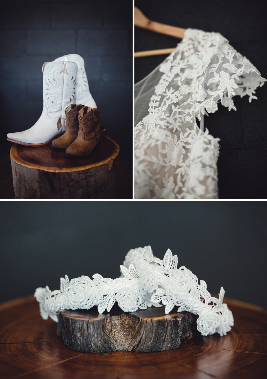 Country Wedding Photographers | Bride's details