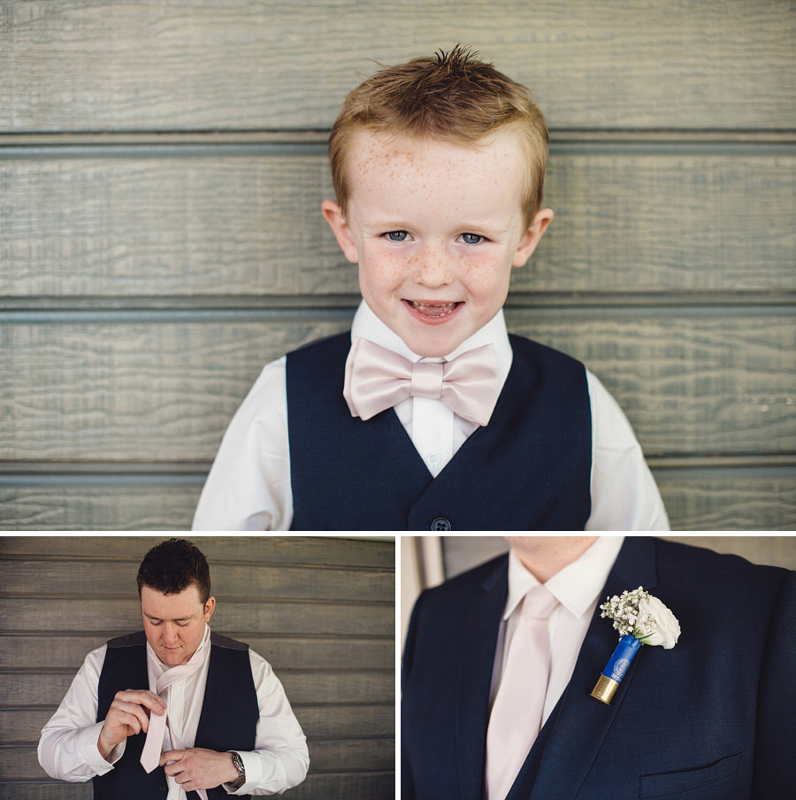 Forbes Wedding Photography | Boys getting ready