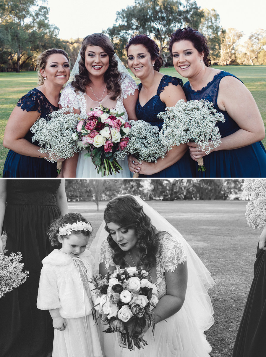 Contemporary Wedding Photographer | Bridesmaids
