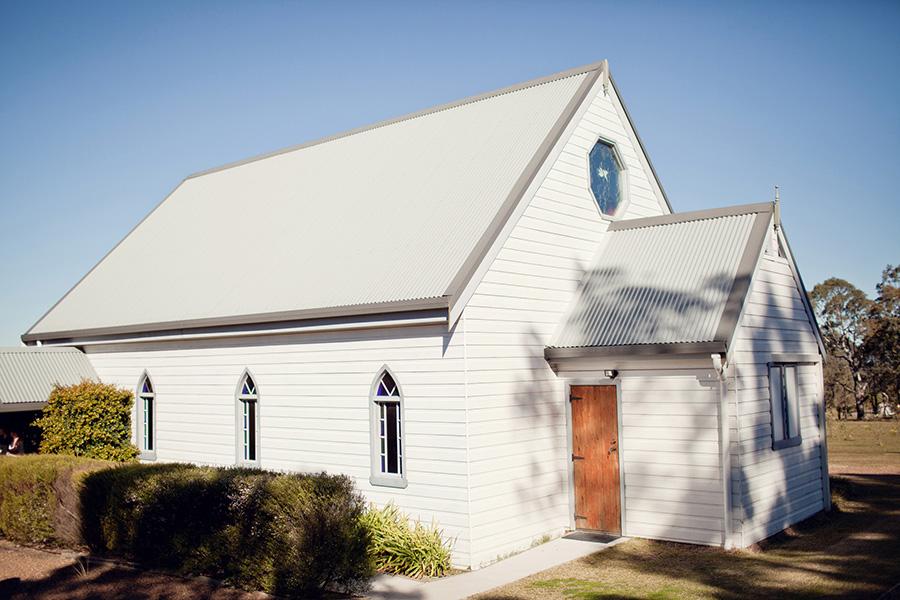 Lovedale Chapel Wedding Photographer